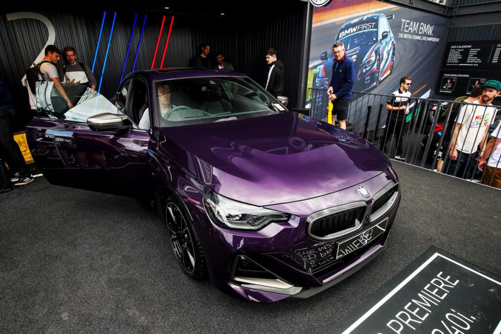 BMW Serie 2 2022 - Festiva of Speed di Goodwood