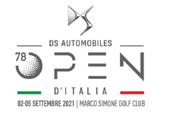 DS è gran protagonista al 78° Open d'Italia di golf