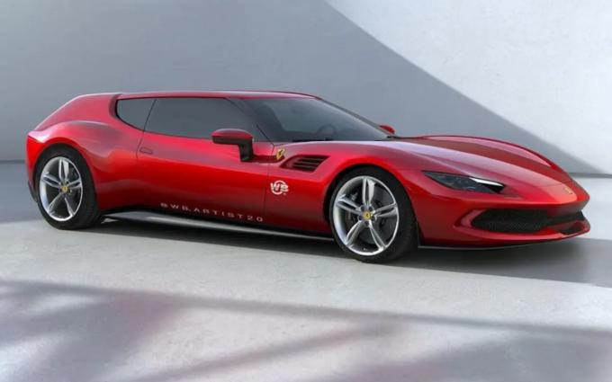 Ferrari 296 GTB Shooting Brake: il RENDER che ipotizza la discutibile trasformazione