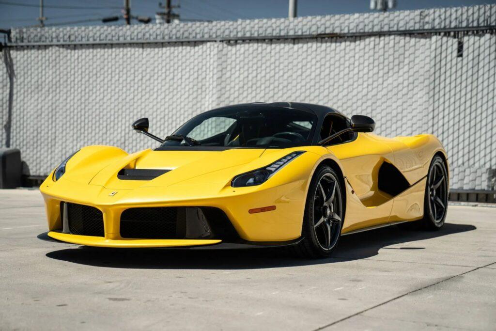 Ferrari LaFerrari Giallo Triplo Strato