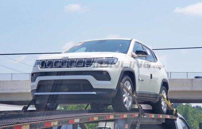 Jeep Compass MHEV - Foto spia 23-07-2021