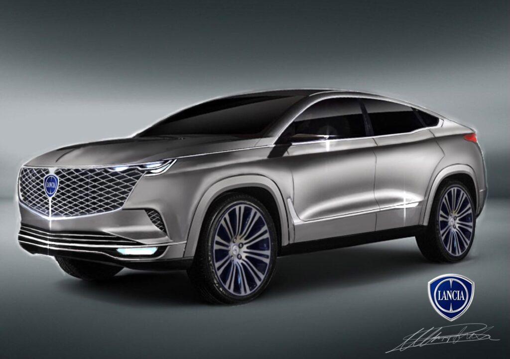 Lancia DP Vision: fantasioso concept di SUV-Coupé [RENDER]