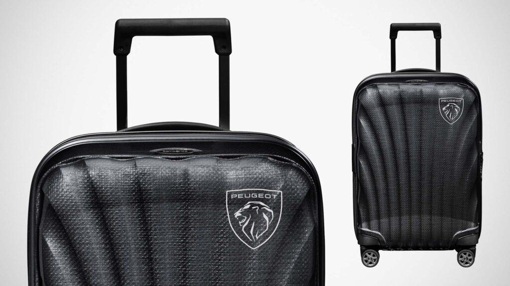 Peugeot completa la sua gamma di prodotti lifestyle con un trolley da cabina