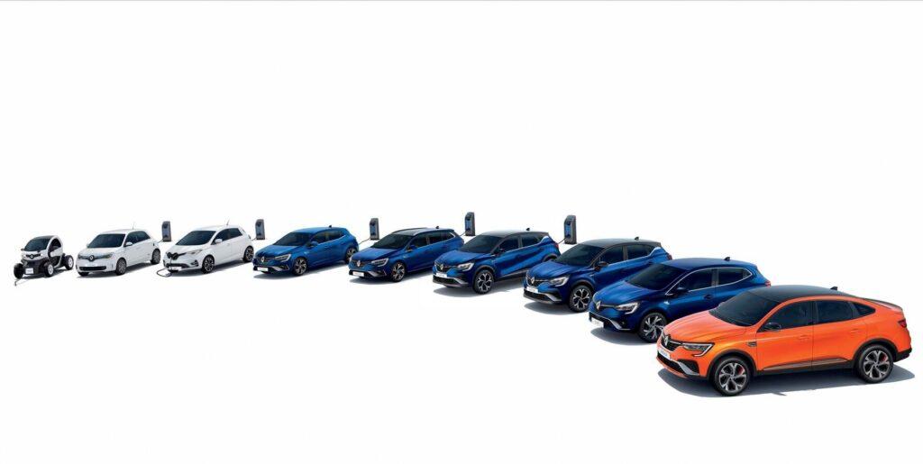 Renault Italia leader di vendite elettriche e ibride plug-in nel primo semestre 2021