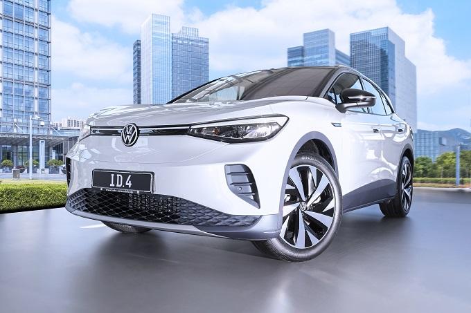 Volkswagen ID.4 monta pneumatici Hankook Ventus S1 evo 3 ev in primo equipaggiamento