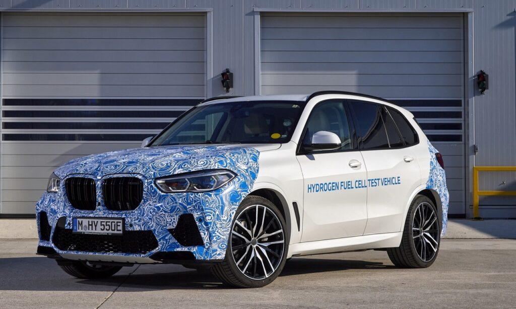 BMW iX5 Hydrogen: il SUV ad idrogeno verrà presentato a Monaco