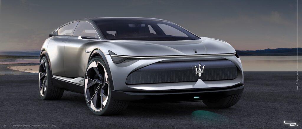 """Maserati IEX: una concept per """"sfidare"""" la Lamborghini Urus [RENDER]"""
