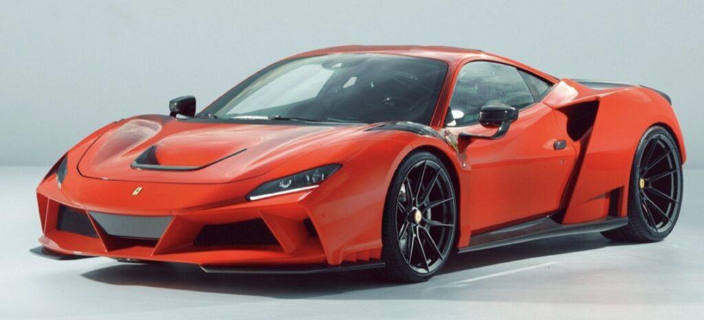 Ferrari F8 N-Largo: il nuovo missile di Novitec da 825 CV [VIDEO]