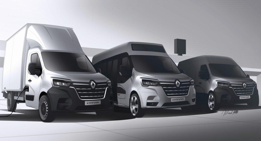 Renault: con Hyvia per un futuro puntando sull'idrogeno
